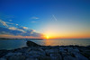 850E2802 - Sunset Jumera (Zoemies...) Tags: sunset beach nature landscape dubai jumera zoemies