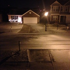 It snowed on the #Apocalypse #EndOfTheWorld #20121221 #weather #cincywx