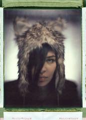 Iva (Braca Nadezdic) Tags: portrait girl studio 8x10 positive sinar 809 aeroektar polaroid809 polaroid8x10