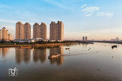 Saigon Pearl building in the morning (Andy Le | +84908231181) Tags: road morning light beautiful skyline night canon buildings asian asia long exposure vietnamese traffic vietnam chi pearl ho minh saigon bitexco