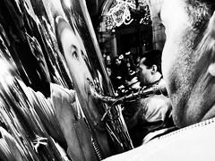 Tuba (unoforever) Tags: christmas street people musician monochrome photography navidad calle concert gente concierto streetphotography streetphoto tuba msico fotografa castelln spmonochrome unoforever
