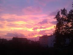 sunset (ivona eriuivona) Tags: travel sunset sky clouds fiume croatia planet hrvatska rijeka flickrandroidapp:filter=none