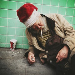 (D. Ingraham) Tags: christmas holiday losangeles homeless streetphotography iphone lostsoul mobilephotography iphoneography lovedbygod uploaded:by=flickrmobile flickriosapp:filter=nofilter
