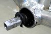 Tretlagerwelle (velostat.) Tags: bicycle defekt welle velo fahrrad aluminium stahl kugeln dichtung tretlager kugellager cvelostat13086berlinlanghansstrase6 tretlagerwelle