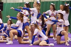 College Cheerleaders, Cégep André-Laurendeau Boomerang, Sony A57, Minolta 135mm 2.8 Lens, Montréal, 24 November 2012    (46) (proacguy1) Tags: montréal cheer cheerleader cheerleading collegecheerleaders minolta135mm28lens sonya57 24november2012 cégepandrélaurendeauboomerang