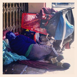 //www.flickr.com/photos/61412218@N00/8313400046/: #homeless person in LA: #homeless person in LA