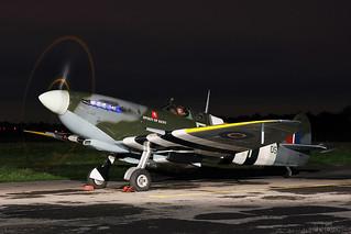 Spitfire IX TA805 G-PMNF - Biggin Hill Heritage Hangar
