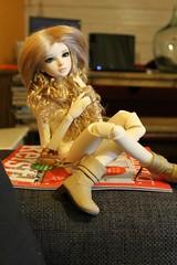 Camille (Ev's Dolls ) Tags: angel bjd hybrid magical tania ih msd jid iplehouse