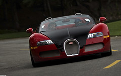 Bugatti Grand Sport (GHG Photography) Tags: red car speed canon french power performance convertible pebblebeach expensive blac bugatti torque w16 horsepower veyron topgear gransport droptop bugattiveyron mostexpensive 60d mostexpensivecar pebblebeachconcourse ghgphotography