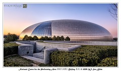 National Centre for the Performing Arts  (Beijing ) (SKHO ) Tags: china travel sunset architecture buildings lowlight nikon beijing     structural   d700 nikond700 earthasia nationalcentrefortheperformingarts afsnikkor1735mmf28difed