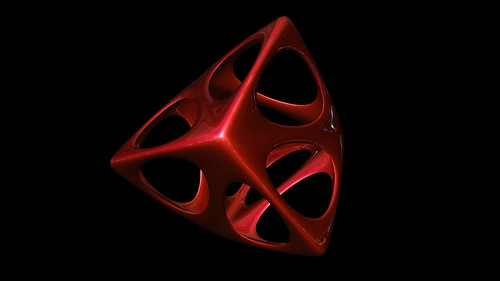 """tetrahedron spiky soft • <a style=""""font-size:0.8em;"""" href=""""http://www.flickr.com/photos/30735181@N00/8325425855/"""" target=""""_blank"""">View on Flickr</a>"""