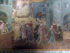 Detail of Dancers from Ambrogio Lorenzetti's Effects of Good Government in the City and the Country