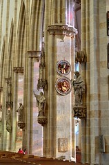 Pfeilerkonsolen (-BigM-) Tags: church photography nikon fotografie kirche baden danube hdr ulm münster donau bigm d5000 würrtemberg
