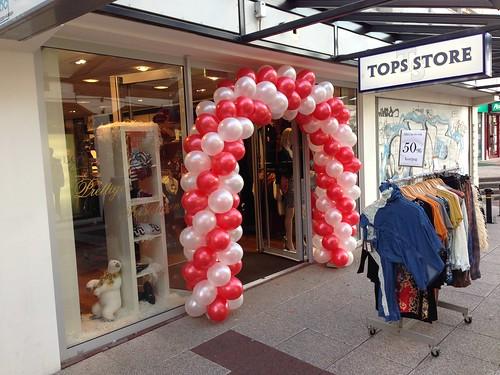Ballonboog 6m Rood, Wit Tops Store Hellevoetsluis
