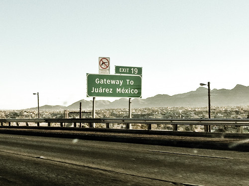 border of Juarez, Mexico