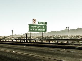 border of Juarez, Mexico