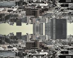 Tokyo 2297 (tokyoform) Tags: city urban reflection japan skyline architecture buildings 350d japanese tokyo asia cityscape skyscrapers ciudad un tquio stadt  bleak  japo japon ville tokio stadtbild paisajeurbano japn    japonya  nhtbn paysageurbain jongkind           chrisjongkind   tokyoform