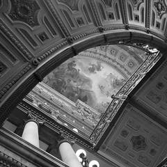 MUNAL (Altamira Vctor) Tags: bw mxico digital arquitectura df mural arte edificio bn museo francia nacional orsay diciembre pintura 1x1 2012 palacio d90 munal