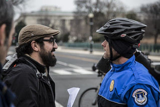 Witness Against Torture: Matt Argues with a Cop