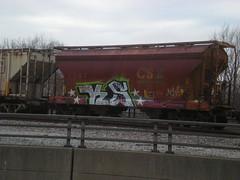KEL & SHAN (Billy Danze.) Tags: chicago graffiti shan freight kel j4f