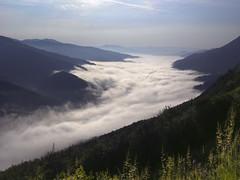 Radiša Živković - Milky way (Radisa Zivkovic) Tags: light sunlight white mist mountains fog clouds river landscape nikon scenery europe serbia srbija reka drina perucac
