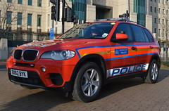 Metropolitan Police | BMW X5 | Diplomatic Protection Group | Armed Response Vehicle | 73 | BX62 BYK (Chris' Transport Pics) Tags: new building london cross group police bmw vehicle brand protection metropolitan 73 dpg vauxhall response armed diplomatic x5 mi6 arv bx62byk