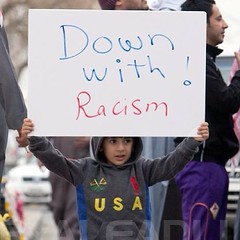 Down with  racism 18-1-2013  # # #_ # # # # ## # q8 #kuwait #kuwaiti #bedoon #humanrights #racism #discrimination #jahra (bedoon.media - KBM) Tags: child human rights kuwait demonstrations taima   jahra  bidoon   bedoon      instagramapp