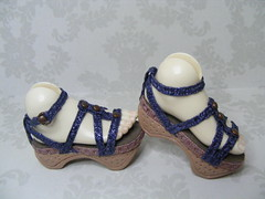 BJD Doll Shoe 117S-side view (Dollstown 13) (Kim Zentner) Tags: pink shoes doll handmade tessa grapefruit jan17 kaye wiggs pinkgrapefruit dollshoes dollstown dollshe iplehouse kayewiggs bjddollshoes