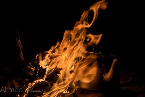 وصف النار اعاذنا الله منها نحن واياكم