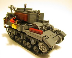 Ram II ARV (LegoEng) Tags: army ii armor british ram 8th armoured reme arv