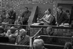 Leek Auctions 23rd Oct-4 (The Rural Eye) Tags: rural eye archive lee william hughes leewilliamhughescom farm farmer farming culture agriculture english tradition staffordshire shropshire cheshire derbyshire west midlands north freelance photographer documentary traditional photography photo image camera professional picture james ravilious humphrey spender photojournalism journalism student british landscape land food production newcastle under lyme university ba degree leek livestock auction mart market llp cow heifer bull dairy sheep herd flock farmsale sale peak district meat october 2012 spring