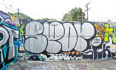 Spor (TheHarshTruthOfTheCameraEye) Tags: up graffiti la losangeles los angeles spor throw throwup srt throwie losangelesgraffiti