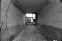 Bordeaux (TSLM1000) Tags: bw white black film analog noir pentax fisheye 400 16mm zenitar blanc fomapan p30