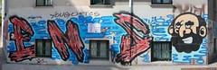 Graffiti panorama (10b travelling) Tags: streetart europa europe slovenia ljubljana slovenija balkans yugoslavia 2012 laibach strassenkunst artdelarue lubiana cmtbstreetart