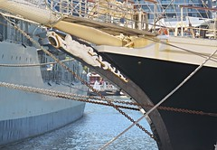 IMG_7994 Tenacious, Bow Detail. (Boat bloke) Tags: sydney australia tallship square rigger ship timber boat wood wooden sea ocean darling harbour harbor tenacious canon sx50hs
