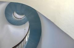Part of a staircase (Funchye) Tags: lighthouse fyr lyngvig nrrelyngvig nikon d600 2485mm staircase spiralstaircase