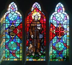 St Francis by John Lawson, 1974 (Simon_K) Tags: stpancras catholic rc ipswich suffolk eastanglia church churches roman