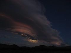 Lenticular Night (stvpak) Tags: moon moonrise lenticular cloud sky