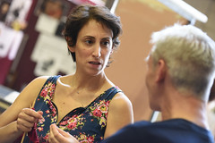 Noa Bodner plays Madame Defarge (TheatreCloud) Tags: a tale two cities charles dickens twocitiestour uk theatre tour 2018 play adaptation rehearsals rehearsal shots first look james dacre