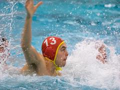 28190897 (roel.ubels) Tags: jong oranje nederland holland duitsland deutschland sport topsport waterpolo 2016 oefenwedstrijd alphen aan de rijn aquarijn