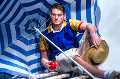 LET'S GO BEACH II (J#K) Tags: man male artistic fashion menswear creative crative homme mode masculin portrait summer t beach plage