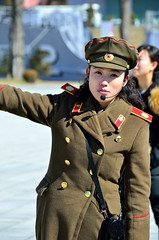 Victorious War Museum Guide (Gedsman) Tags: northkorea north korea pyongyang kim communism communist juche history tradition