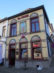 Café The Tower, Ronse (Erf-goed.be) Tags: thetower onderdetoren café kleinemarkt ronse archeonet geotagged geo:lon=35989 geo:lat=507488 oostvlaanderen