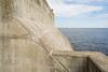 Don't Lose Your Head (jkrumm) Tags: lakesuperior head tourist cement water blue perspective converginglines