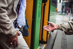 351/365 Helping Hands (ewitsoe) Tags: ewitsoe nikond80 35mm street couple hands help helpful grateful 365 poznan poland europe needs tram train transit tourism tourist friendly ove elderly older seniors travel trams urbancity citylife life lifes