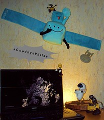 #GoodbyePhilae (DLR_de) Tags: goodbyephilae goodbye philae philae2014 rosetta spacecraft space comet cometlanding 67p 67pchuryumovgerasimenko farewell