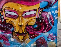 Wall Art (Valencia) (4) (Canon G1X) (1 of 1) (markdbaynham) Tags: wall art graffiti colour design local valencia street urban metropolis city spain spainish es espana espanol valencian canon canonites powershot g1x