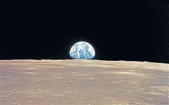 Earth Rise Taken by Apollo 9 (cosmologyandspace) Tags: outerspace earthrise moon apollospaceprogram