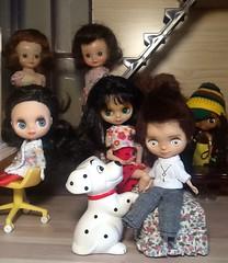 Blythe-a-Day August#13: Animal House: Eli & The Girls