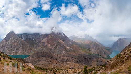 Hazorchashma and Marguzor, Haftkul, Fann Mountains, Tajikistan.